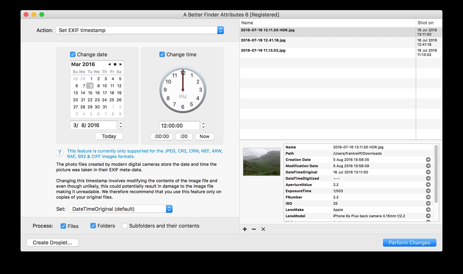 A Better Finder Attributes 7.05 Mac 破解版 - 优秀的文件属性批量修改工具