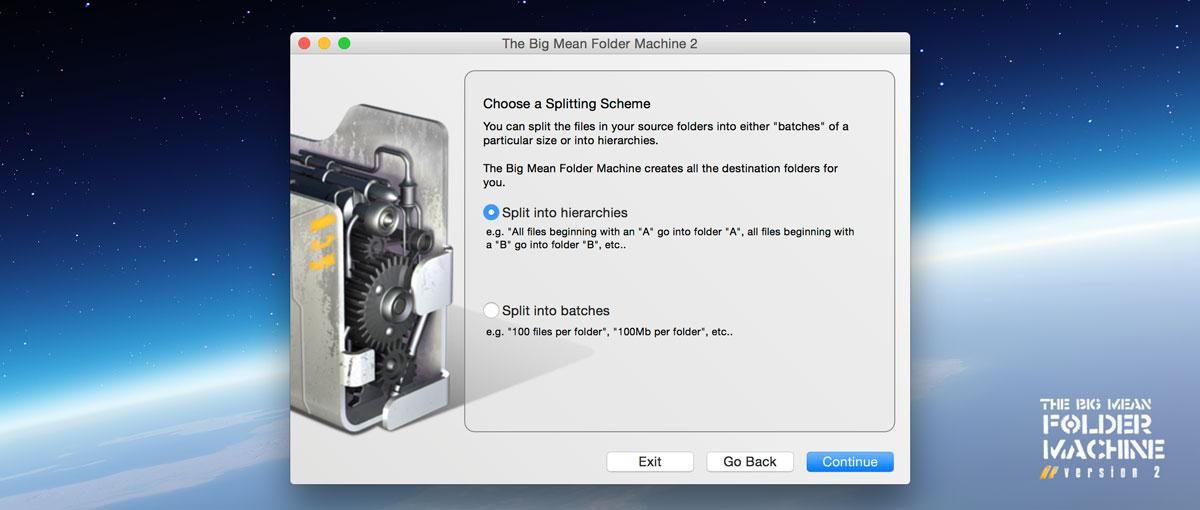 Big Mean Folder Machine  Mac 破解版 文件管理工具-麦氪搜(iMacso.com)