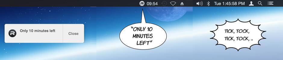 focus notification examples