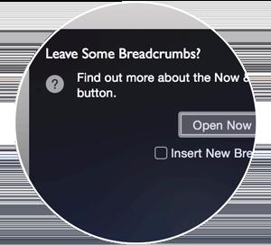 breadcrumbing technique