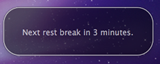 Rest Break Reminder